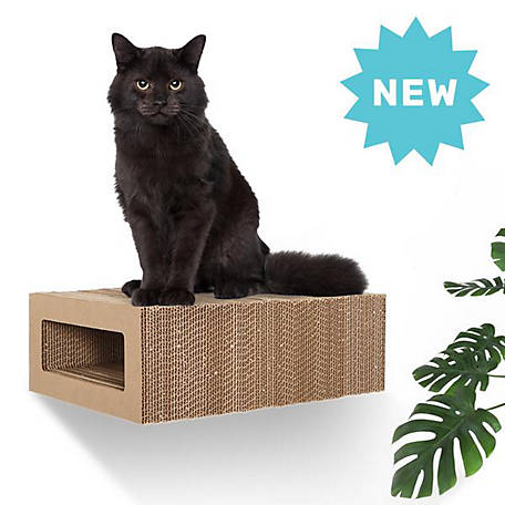 Hangman Floating Cat Scratcher Low Profile Rectangle, FCS-B, FCS-B