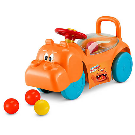 Kid Trax Hungry Hippo Activity Ride On, Green, KT1455