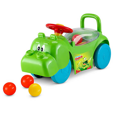 Kid Trax Hungry Hippo Activity Ride-On, Orange, KT1483
