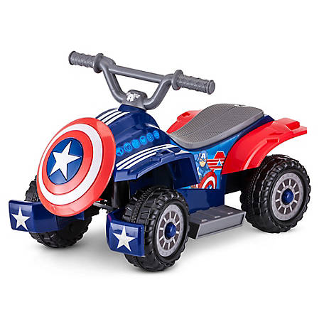Kid Trax Captain America 6V Toddler Quad, KT1220WMB