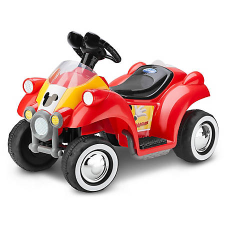 Kid Trax Mickey Mouse 6V Toddler Quad Ride-On, KT1122