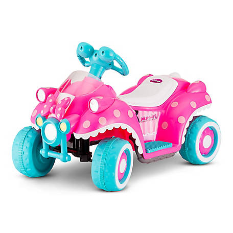 Kid Trax Minnie Mouse 6V Toddler Quad Ride-On, KT1123KM