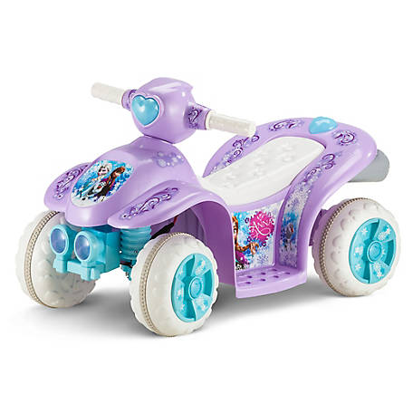 Kid Trax Frozen 6V Toddler Quad Ride-On, KT1167