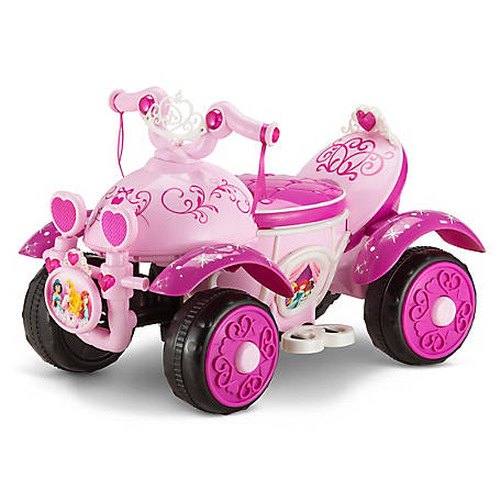 Kid Trax Princess 6V Toddler Quad Ride-On, KT1146