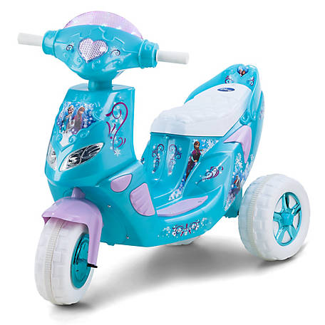 Kid Trax Frozen 6V Twinkling Scooter, KT1163