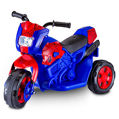 Kid Trax Spider-Man City Sport 6V Motorcycle Ride-On, KT1240