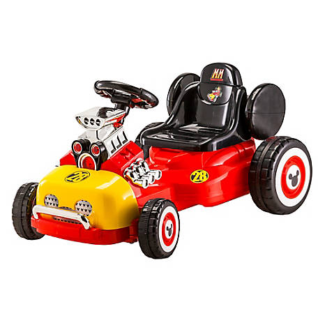 Kid Trax Mickey Mouse Roadster Racer Go Cart, KT1290