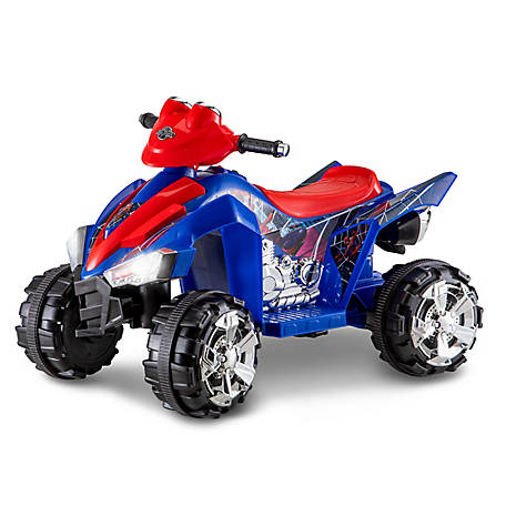 Kid Trax Spiderman 6V Quad Ride-On, KT1296