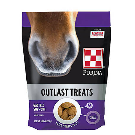 Purina Outlast Horse Treats, 3.5 lb. Bag