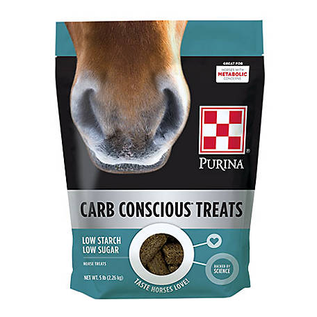Purina Carb Conscious Horse Treats, 5 lb. Bag