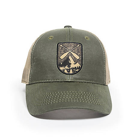 Outdoor Cap Oar Patch Meshback Cap, TS233708