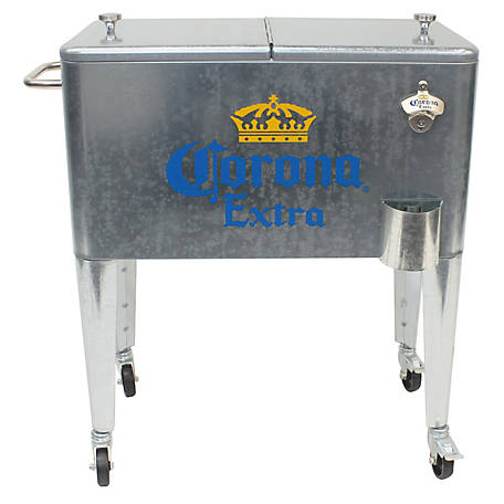 Leigh Country 60 qt. Corona Galvanized Cooler, MC 47900