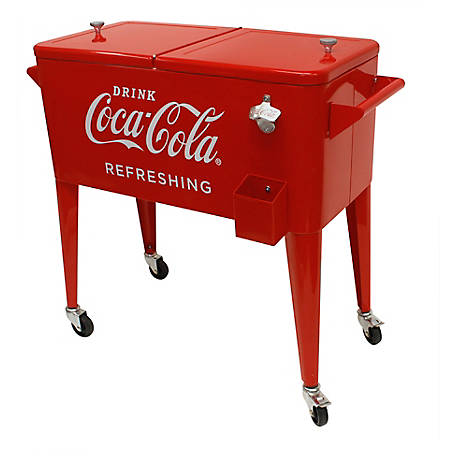 Leigh Country 80 qt. Coca-Cola Refreshing Cooler, CP 98122