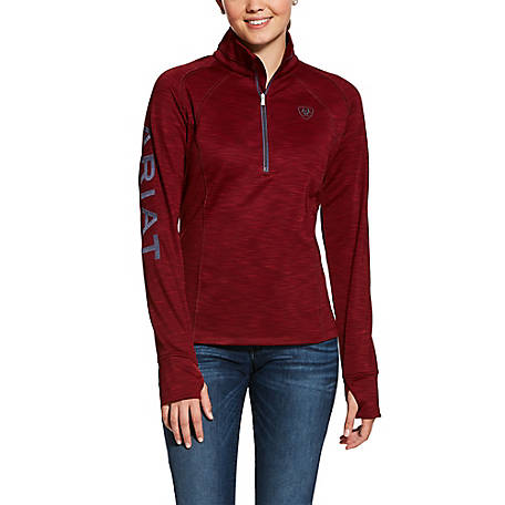 Ariat Women's Tek Team 1/2 Zip Sweatshirt