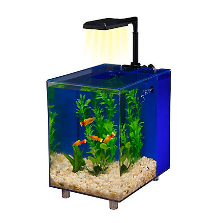 Penn-Plax Prism Desktop Aquarium 2 Galblue, WW120B