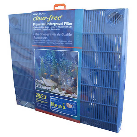 Penn-Plax Clear-free Premium Under Gravel Filter, 20-29 gal., CFU29
