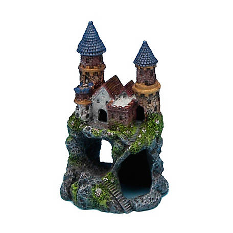 Penn-Plax Enchanted Castle Small, 5 in., RRW11