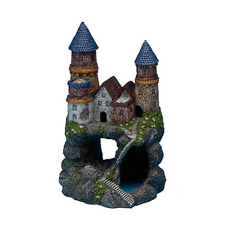 Penn-Plax Enchanted Castle Medium, 6 in., RRW12