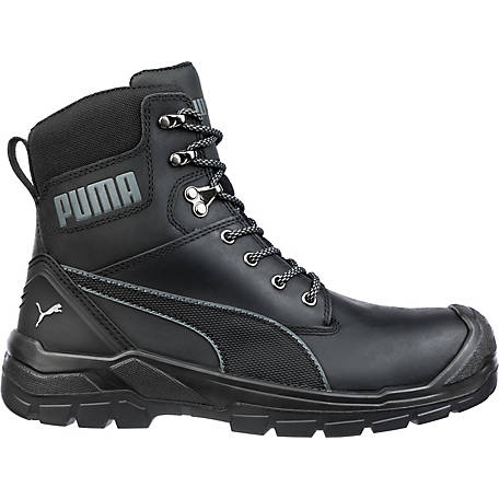 Puma Men's Conquest 7 in. Zip Water Proof Work Boot, 630655