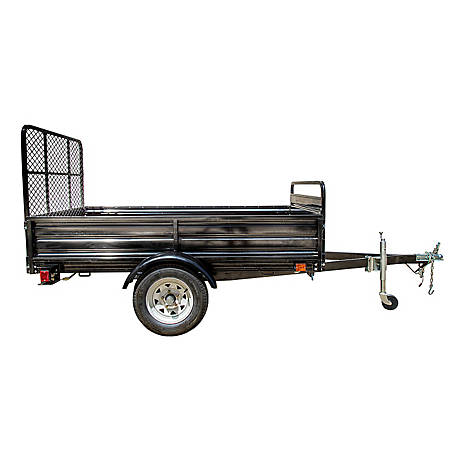 DK2 Power 5 ft. x 7 ft. Utility Trailer Kits Powder Coated with Drive Up Gate MMT5X7-DUG