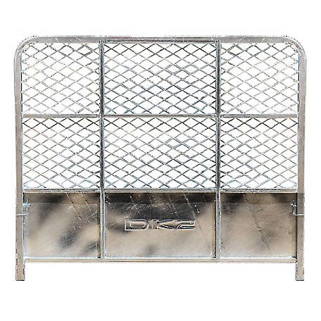 DK2 Drive Up Gate for MMT5X7G UtilityTrailer- Galvanized, Model #: 5X7G-DUG