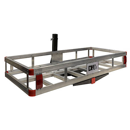 DK2 Hitch Mounted Aluminum Cargo Carrier, HCC502A