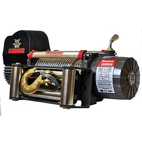 DK2 Samurai 12,000 lb. Electric Planetary Gear Winch Galvanized Steel Cable - S12000