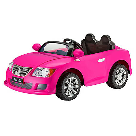Kid Trax Cool Car, 12V, Pink, KT1246