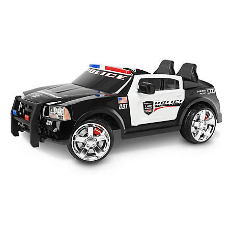 Kid Trax Dodge Charger Pursuit Police Car, 12V, KT1111WM