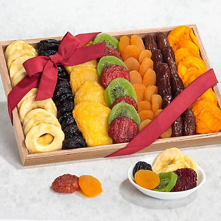 Golden State Fruit Simply Dried Fruit Gift Tray, AP8028