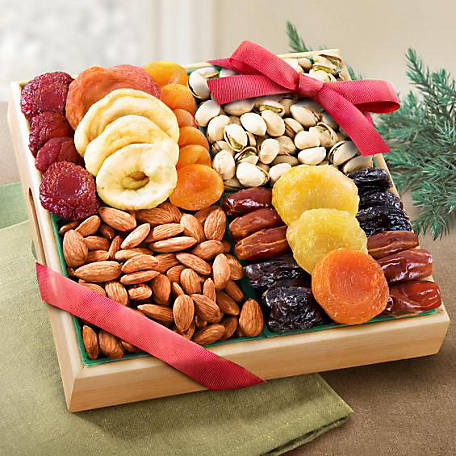 Golden State Fruit Pacific Coast Dried Fruit and Nut Tray, AP8000