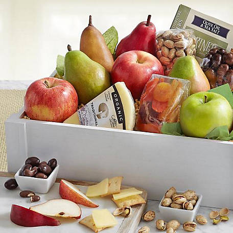 Golden State Fruit Simply Perfect Fruit Cheese Snacks Crate, AC4010