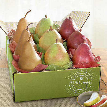 Golden State Fruit Pears To Compare Deluxe Fruit Gift, AB1001