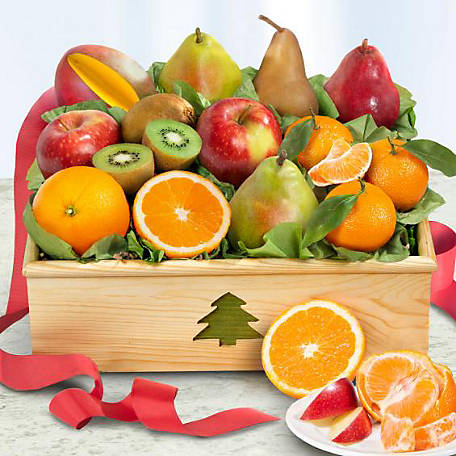 Golden State Fruit Holiday Fruit Crate, AC2056
