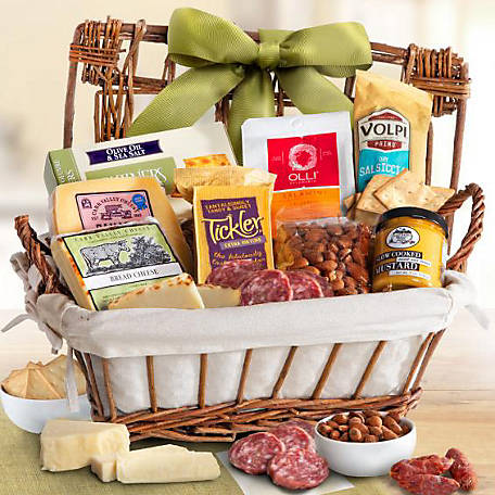 A Gift Inside Gourmet Cheese and Meat Hamper, AA5035