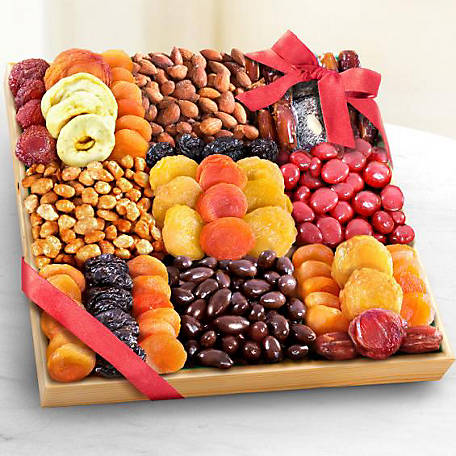 Golden State Fruit Sweet Extrvnce Deluxe Fruit Nuts N Treats, AP8044