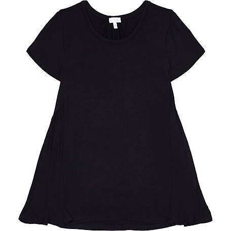 Olivia Sky Women S Solid Babydoll Short Sleeve Shirt Km 003 To At Tractor Supply Co