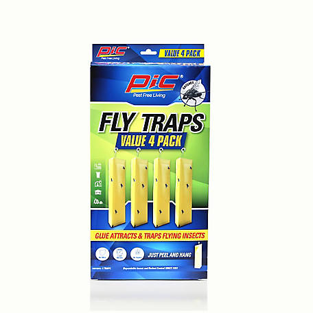 PIC Fly Traps, 4 pack, 4PK-FLY-TRAP