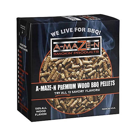 A-MAZE-N Apple Hardwood Pellets, 5 lb., AZPLT020540150