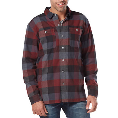 Free Country Men's Flannel Shirt Jacket