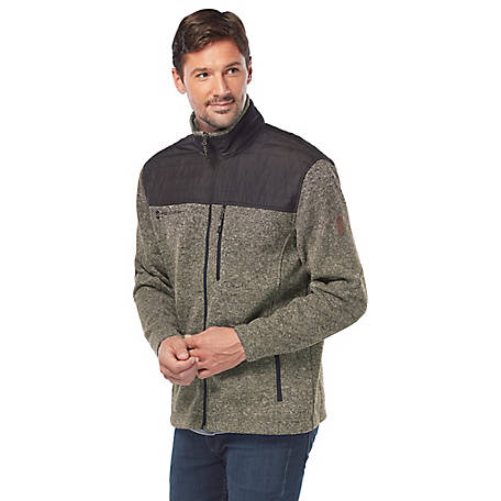 Free Country Men's Heathered Fleece Jacket
