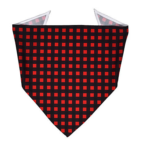 Yellow Dog Design Buffalo Plaid Bandana, BUFR520