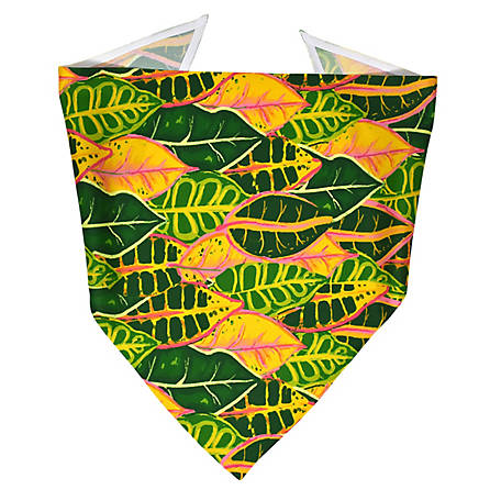 Yellow Dog Design Croton Plant Bandana, CRPL520