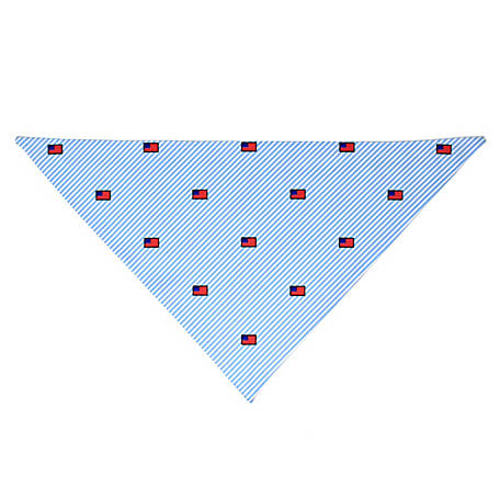 Yellow Dog Design Southern Dawg American Flags Bandana, SSAM520