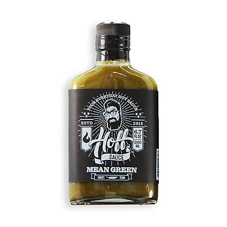 Hoff & Pepper Mean Green, Verde Style Hot Sauce, 2 Pack, MEAN GREEN