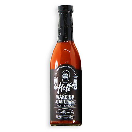 Hoff & Pepper Wake Up Call, Sriracha Style Hot Sauce, 2 Pack, WAKE UP CALL