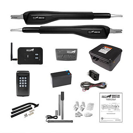 Mighty Mule Estate Smart Ready Heavy Duty Dual Combo Kit, ES572W