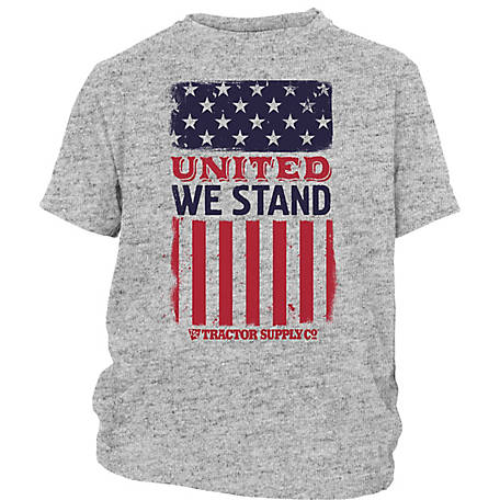 Tractor Supply Men's Short Sleeve 'United We Stand' T-Shirt
