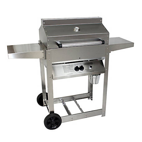 Phoenix Stainless Steel Riveted 4 Legged Liquefied Petroleum Gas Grill, SDRIV4LDDP