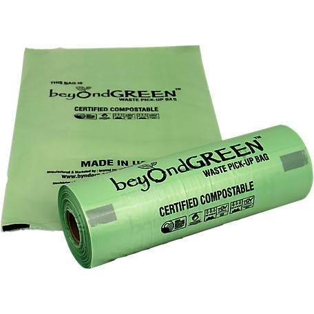 bioDOGradable Bags Compostable Dog Poop Bags, Tissue Box Style, 200 Count, 2016200